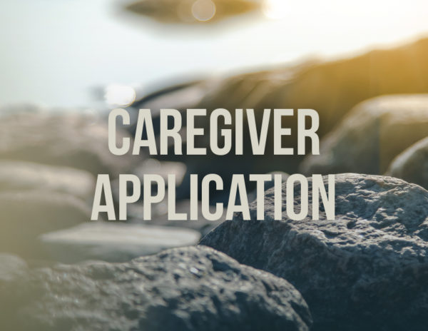 caregiver application
